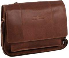 Cowboysbag The Chesterfield Brand Gent Fietstas cognac Leren tas