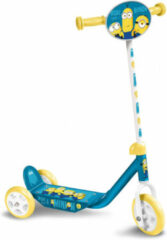 Universal 3-wiel kinderstep Minions 2 Junior Voetrem Blauw/Geel
