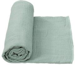 Cottonbaby multidoek soft XL 120 x 120 cm oudgroen