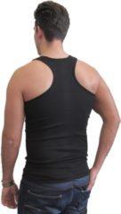 Naft Katoenen halter hemd multipack 4 stuks zwart maat S