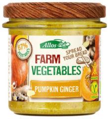 Allos Farm vegetables pompoen & gember 135 Gram