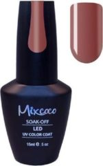 Rode Gellak Mixcoco # 126 Bloody Red - Gel nagellak