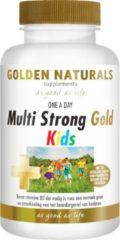 Golden Naturals Multi Strong Gold Kids (60 kauwtabletten)