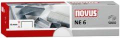 Nietjes Novus NE 6 voor elektrische machines doos a 5000 stuks