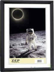 Zwarte Zep Kunststof Fotolijst New Easy Zwart 15x20 cm KB3