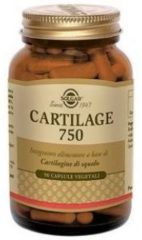 Solgar Cartilage 750 Integratore Con Cartilagine di Squalo Australiano 90 Capsule
