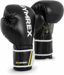 Gymrex Bokshandschoenen - 12 oz - zwart