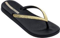 Gouden Ipanema Anatomic Mesh Dames Slippers - Black/Gold - Maat 41/42