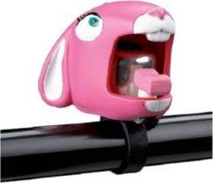 PimpJeFiets Fietsbel konijn roze