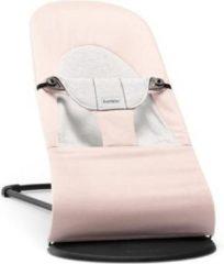BabyBjörn BABYBJÖRN Wipstoeltje Balance Soft - Lichtroze-Grijs Cotton-Jersey