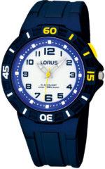 Blauwe Lorus Kids - R2317HX9 - Horloge - Kunststof - Blauw - Ø 36 mm