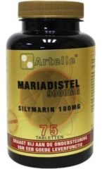 Artelle Mariadistel 9000 mg silymarin 180 mg 75 Tabletten