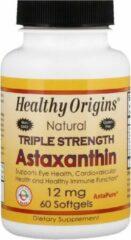 Healthy Origins Astaxanthine - 12 mg 60 softgels