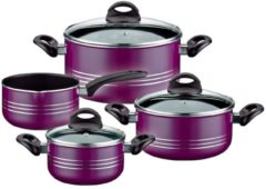 GSW Kochtopf-Set, Aluminium, Induktion, 7-teilig, »MILANO COLOR«
