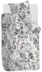 Licht-grijze At Home Shadowy - Dekbedovertrek - Eenpersoons - 140x200/220 cm + 1 kussensloop 60x70 cm - Light grey