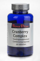 Nova Vitae Cranberry d-mannose complex - 90 tabletten