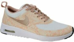 Beige Sneakers Nike Air Max Thea Print GS 834320-100