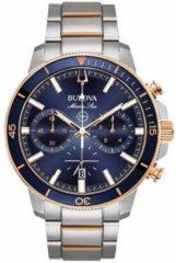 BULOVA - Horloge - Mannen - Zilverkleurig Ø 45 98B301