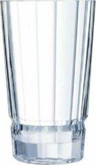 Transparante Cristal d'Arques Macassar vaas 27 cm