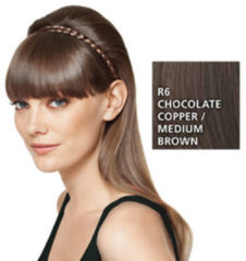 Great Lengths Hairdo French Braid Band R6/30H Chocolate Copper