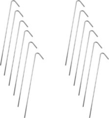 Barkleydeal Stalen Tentharingen Set - 12 stuks - 23 cm | Staal | Opzetten Tent | Tentspijkers | Tentspijker | Haringen | Tentharing | Haring | Camping | Kamperen