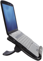 "Ewent Notebookstandaard DeLuxe, 35.56cm (14"") - 48.26cm (19""), 4 port USB hu (EW1251-STCK1)"