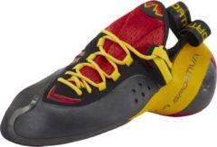 La Sportiva Genius klimschoenen Heren geel/rood Maat 44,5