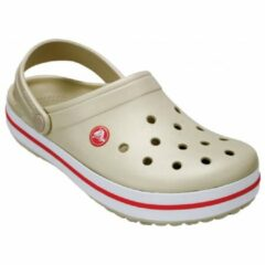 Crocs - Crocband - Sandalen maat M8 / W10, grijs/wit