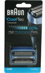 Blauwe Braun 40B CoolTec Cassette - Vervangend Scheerblad