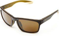 Bruine Briko Mistral Color HD Sunglasses SH BROWN GR -KGR3 - Maat One size