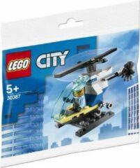 Blauwe LEGO 30367 Politiehelicopter (Polybag - Zakje)