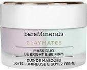 BareMinerals Gesichtspflege Spezialpflege Claymates Mask Duo Be Bright & Be Firm 1 Stk.