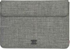 Grijze Herschel Spokane Sleeve for 13 inch MacBook - Raven Crosshatch