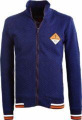 Earthbound E-bound Vest Heren Melbourne Yacht Club Met Motief Blauw