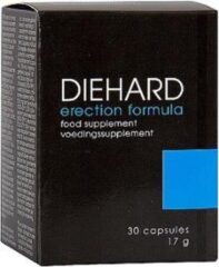 Shots Toys Shots Pharmquests erectie formule Diehard - 30 Capsules zwart,wit,blauw