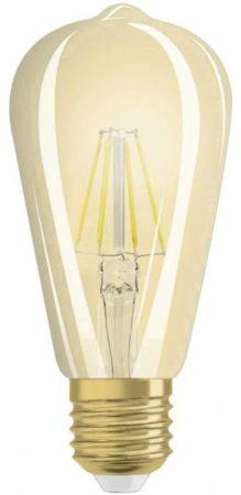Afbeelding van OSRAM LED-lamp Energielabel: A++ (A++ - E) E27 Ballon 4 W = 35 W Goud (Ã x l) 64 mm x 143 mm Filament / Retro-LED 1 stuks