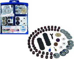 Dremel accessoire 725JA, 70-delige multifunctionele EZ SpeedClic accessoire set