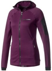 Fleecejacke terrex Stockhorn Hooded BS1648 mit TechnoStretch®-Technologie adidas performance red night f17