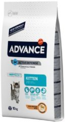 Advance cat kitten chicken / rice kattenvoer 10 kg