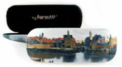LANZFELD Brillenkoker, Vermeer, Gezicht op delft