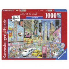 RAVENSBURG Puzzel Fleroux - New York, Cities Of The World 1000 Stukjes (6131973)