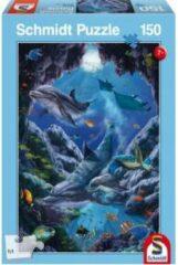Schmidt Kleuren van de zee - Kinderpuzzel - 150 Stukjes