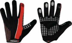 Merida Fietshandschoenen S Met Touchscreen Rood Zwart