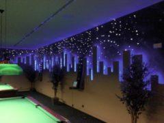 EUROLITE LED lichtsnoer buiten 44 meter - Blauw - Lichtslang buiten