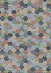 Eurogros Modern Vloerkleed - Amado 2626 - Meerkleurig - Stijlvol - Honinggraad - Antislip - Geluiddempend - Anti allergie - Eenvoudig schoonmaken - Kleurrijk - Speels - Makkelijk te combineren