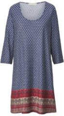 Kleid mit Allover-Print Janet & Joyce Blau