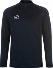 Blauwe Sondico Trainingsshirt lange mouw - Heren - Navy - XL