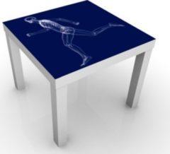 PPS. Imaging Beistelltisch - Gläserner Mensch in Blau - Tisch Blau