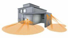Antraciet-grijze Steinel L665 LED Huisnummerverlichting - Bewegingsmelder - Antraciet