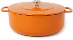 Combekk Sous Chef gietijzeren braadpan - 28cm - oranje